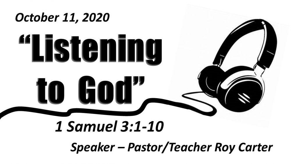 Listening to God Image