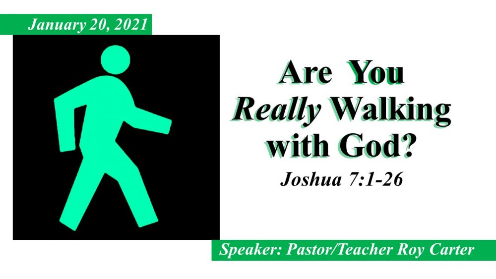 Are You Really Walking With God?