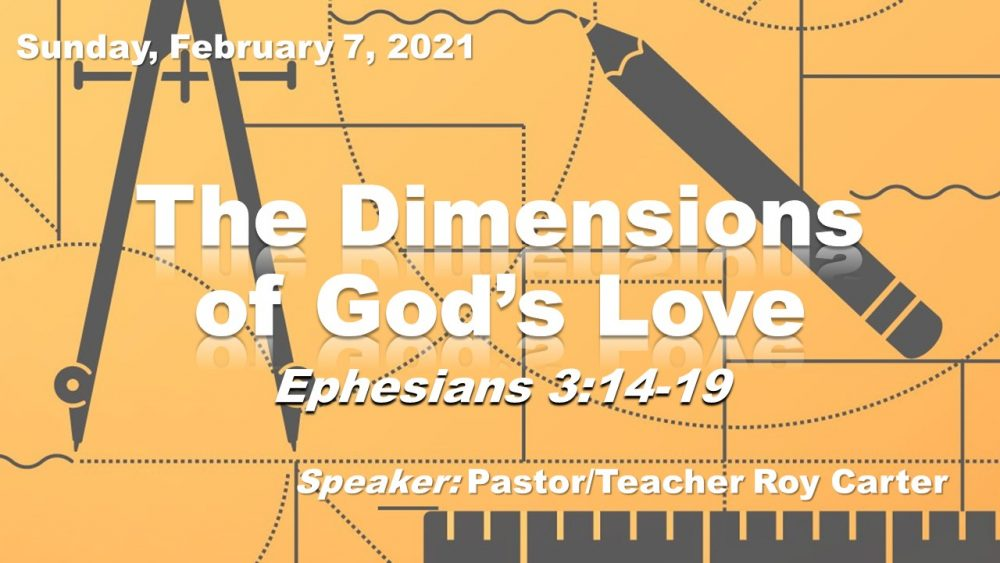 The Dimensions of God\'s Love to Us