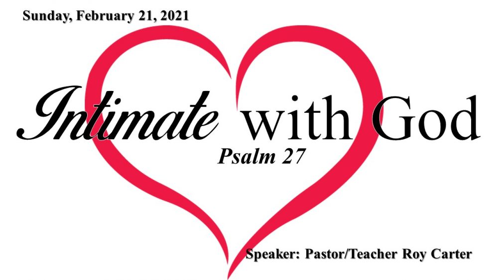 Intimate with God