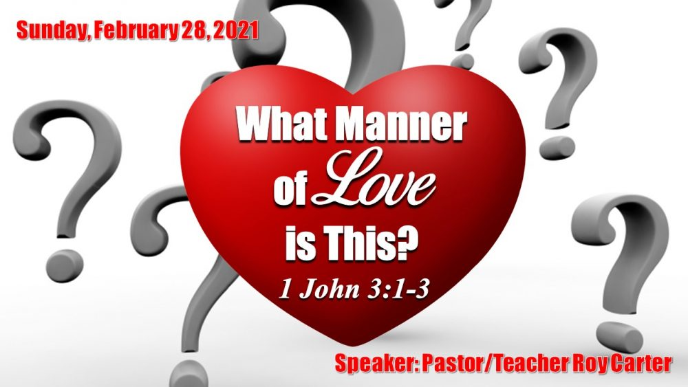 What Manner of Love is This? Image