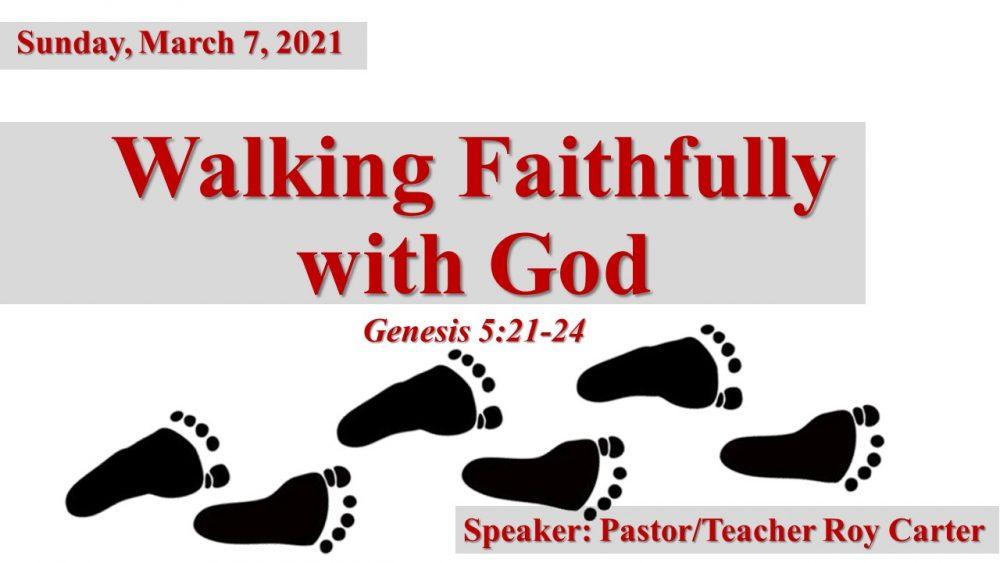 Walking Faithfully with God Image