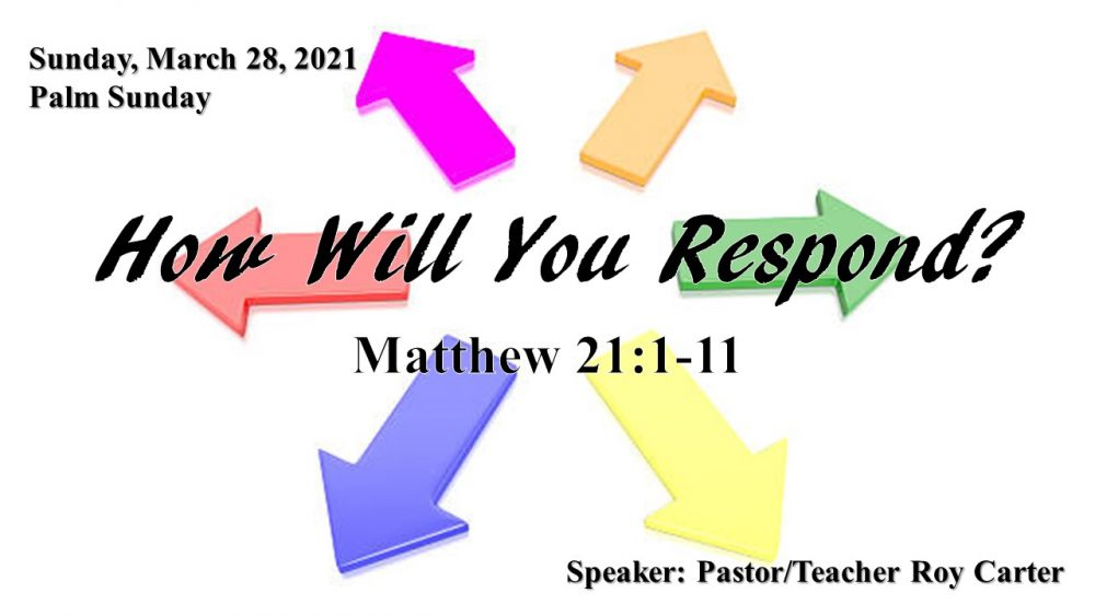 How Will You Respond? Image