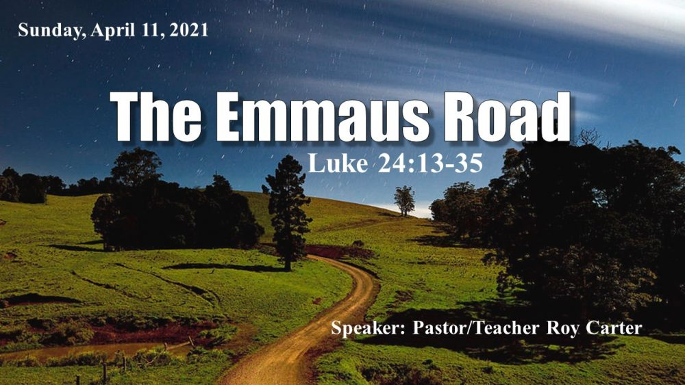 The Emmaus Road Image